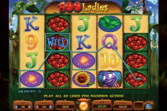 100 Ladies Slot Slot Reels