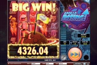 Apollo Rising Slot Big Win