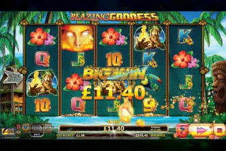 Blazing Goddess Slot Big Win