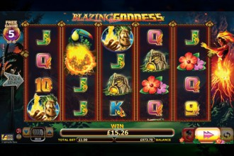 Blazing Goddess Slot Free Games