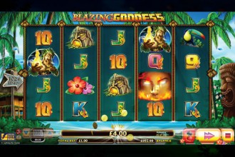 Blazing Goddess Slot Reels