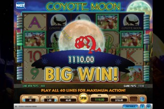 Coyote Moon Online Slot Big Win
