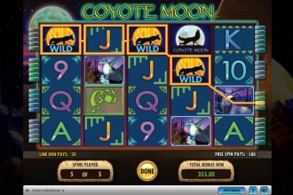 Coyote Moon Online Slot Free Spins
