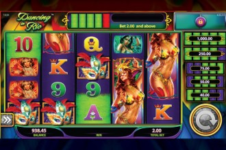 Dancing in Rio - jackpot slot