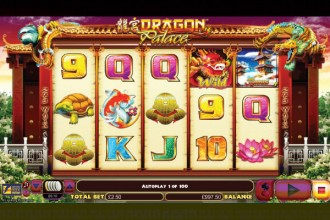 Dragon Palace Slot Reels