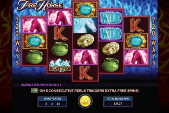Fire Horse Slot Free Spins