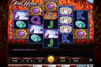 Fire Horse Slot Wilds