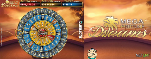 NetEnt Mega Fortune Dreams Online Slot Bonus Wheel