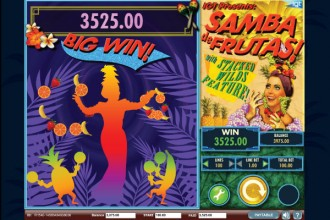 Samba de Frutas Slot Big Win
