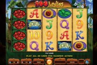 100 Ladies Slot Online Bonus Symbols