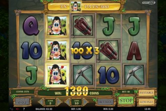 Hugo Online Slot Free Spins Win