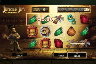 Jungle Jim El Dorado Slot Free Spins Multiplier