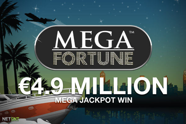 Norwegian Wins NetEnt Mega Fortune Slot Jackpot