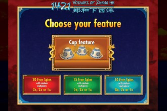 1421 Voyages Of Zheng He Slot Players Decision