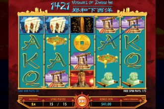 1421 Voyages Of Zheng He Slot Free Spins