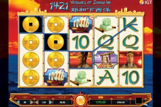 1421 Voyages Of Zheng He Slot Reels