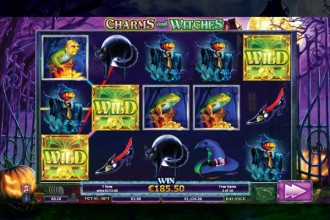 Charms And Witches Slot Free Spins