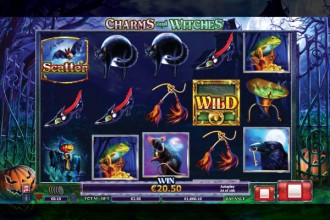 Charms And Witches Online Slot Reels