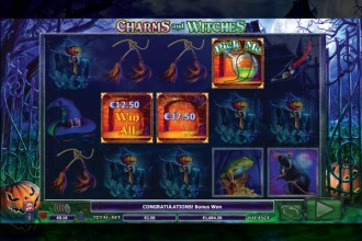 Charms And Witches Slot Pick Me Bonus