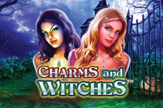 Charms And Witches Slot Logo