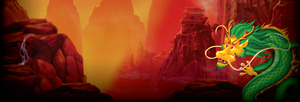 Dragon's Temple Background Image