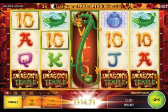 Dragons Temple Slot Big Win