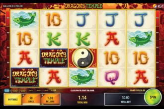 Dragons Temple Slot Reels