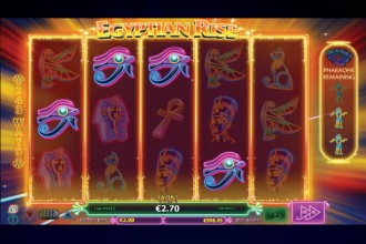 Egyptian Rise Slot Free Spins Game