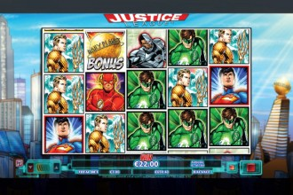 Justice League Slot Reels