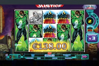 Justice League Slot Super Spins