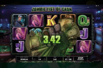 Lost Vegas Slot Zombies Fist Of Cash Bonus