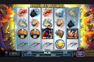 Superman Online Slot Reels