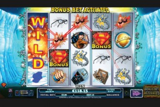 Superman Online Slot Free Spins