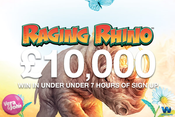 10K Raging Rhino Slot Win With In 7 Hours Of Sign Up