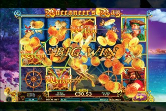 Buccaneers Bay Online Slot Free Spins Big Win