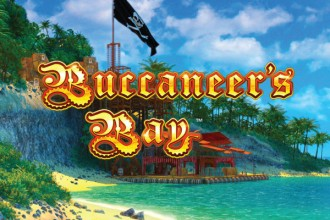 Buccaneers Bay Slot Logo