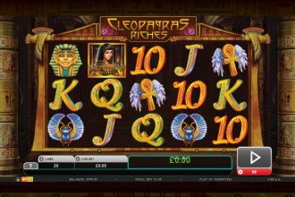 Cleopatras Riches Online Slot Game