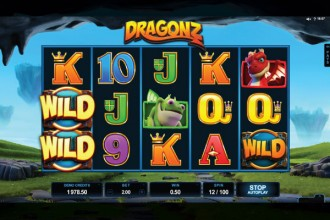 Dragonz Slot Game Reels