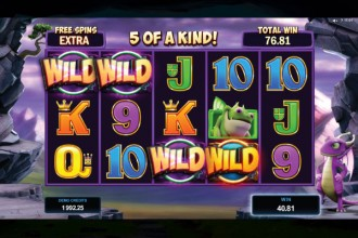 Dragonz Online Slot Switch Free Spins