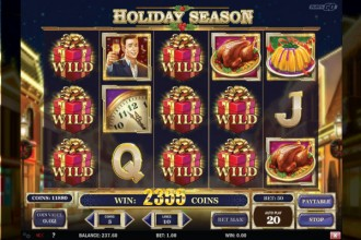 Holiday Season Online Slot Game