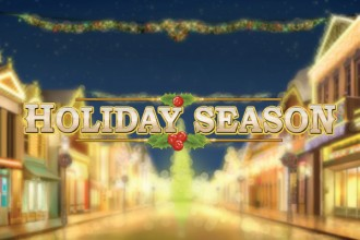 Holiday Season Online Slot Logo