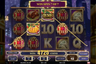 Holiday Season Online Slot Win Spins