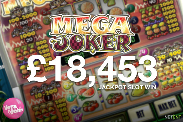 UK Slots Player Wins Mega Joker Jackpot