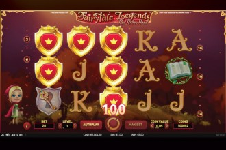 Fairytale Legends Red Riding Hood Slot Reels