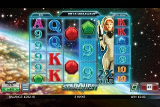 Star Quest Slot Wild Reels