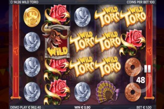 Wild Toro Slot Toro Goes Wild Bonus Feature