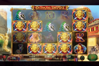 Glorious Empire Online Slot Free Spins Win