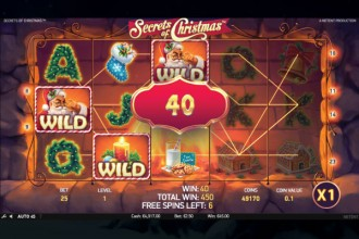 Secrets Of Christmas Slot Free Spins