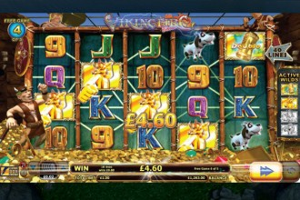 Viking Fire Online Slot Free Spins