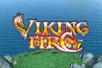 Viking Fire Slot Logo